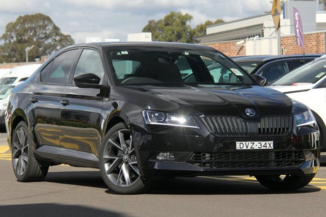 Discounted Demonstrator, Demo, Near New Skoda Superb 206TSI Sedan DSG SportLine, Southport, 2017 Skoda Superb 206TSI Sedan DSG SportLine Liftback
