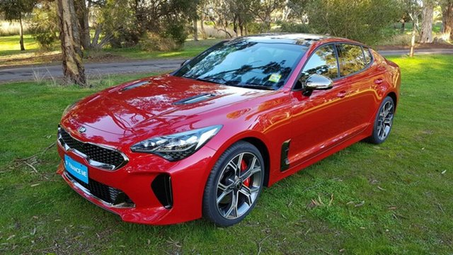 Demonstrator, Demo, Near New Kia Stinger GT Fastback, Tanunda, 2018 Kia Stinger GT Fastback Sedan