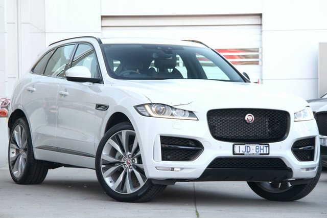 Discounted Used Jaguar F-PACE 20d AWD R-Sport, Gardenvale, 2016 Jaguar F-PACE 20d AWD R-Sport Wagon