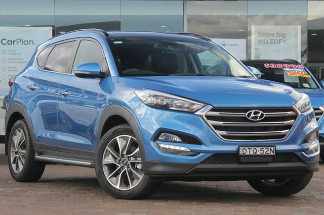 Discounted Demonstrator, Demo, Near New Hyundai Tucson Elite D-CT AWD, Southport, 2017 Hyundai Tucson Elite D-CT AWD SUV