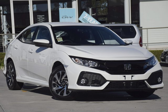 Discounted Demonstrator, Demo, Near New Honda Civic VTi-S, Southport, 2018 Honda Civic VTi-S Sedan
