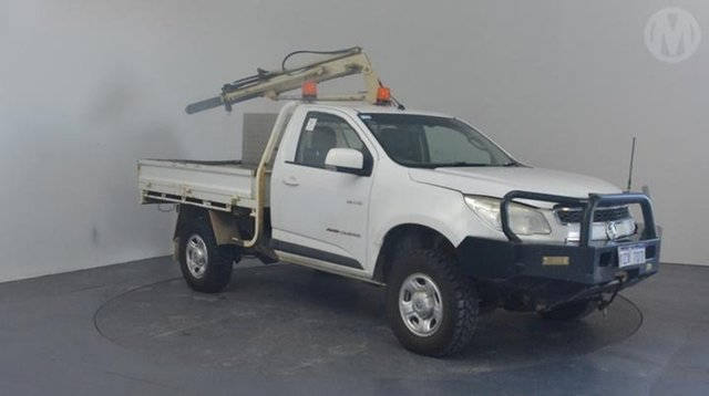 Used Holden Colorado LX (4x4), Altona North, 2012 Holden Colorado LX (4x4) Cab Chassis