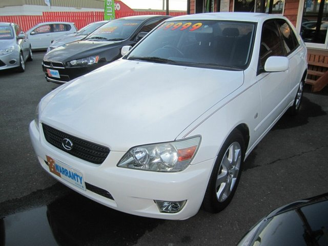 Used Lexus IS200, Capalaba, 2002 Lexus IS200 Sedan