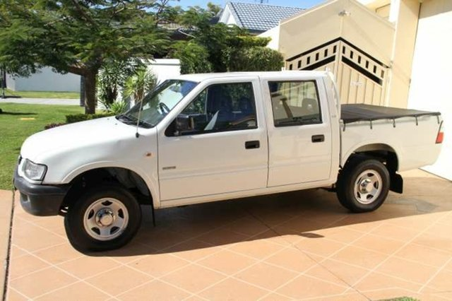 Discounted Used Holden Rodeo LX Crew Cab, Bundall, 2002 Holden Rodeo LX Crew Cab TF MY02 Utility