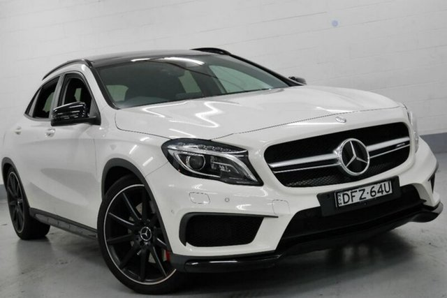 Used Mercedes-Benz GLA 45 AMG 4MATIC AMG SPEEDSHIFT DCT 4MATIC, Warwick Farm, 2016 Mercedes-Benz GLA 45 AMG 4MATIC AMG SPEEDSHIFT DCT 4MATIC Wagon