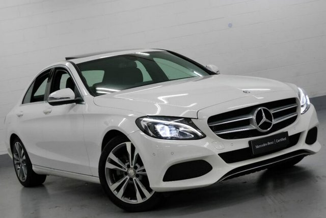 Used Mercedes-Benz C250 9G-TRONIC, Chatswood, 2017 Mercedes-Benz C250 9G-TRONIC Sedan