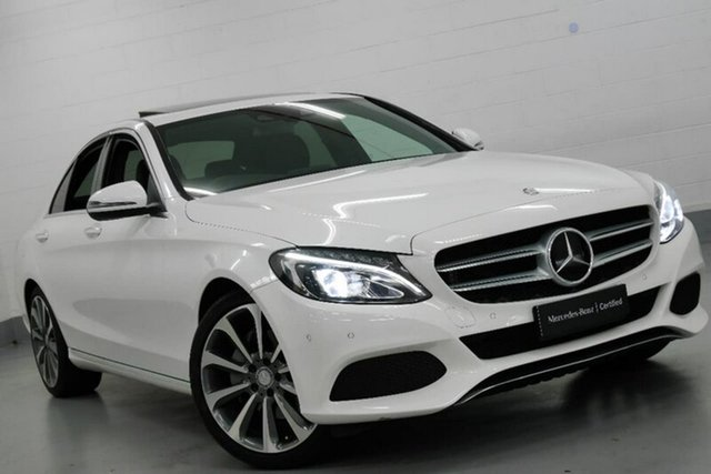 Used Mercedes-Benz C250 9G-TRONIC, Chatswood, 2017 Mercedes-Benz C250 9G-TRONIC Sedan