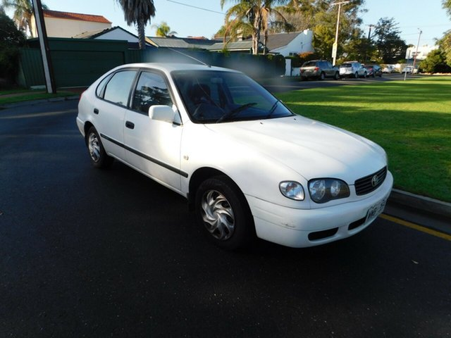 Used Toyota Corolla Ascent, Somerton Park, 2001 Toyota Corolla Ascent Liftback
