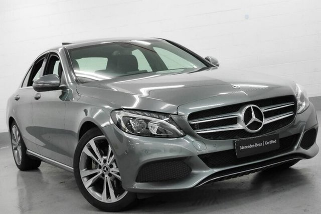 Used Mercedes-Benz C200 9G-TRONIC, Chatswood, 2017 Mercedes-Benz C200 9G-TRONIC Sedan
