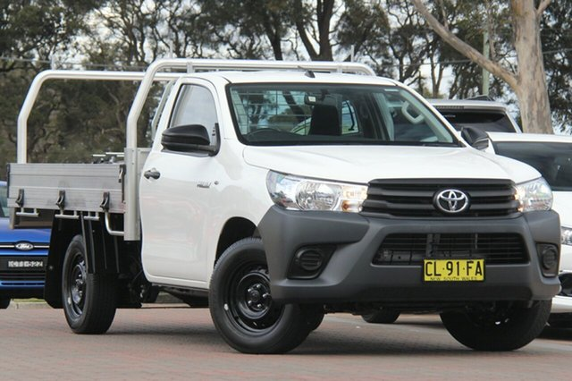 Used Toyota Hilux Workmate, Warwick Farm, 2016 Toyota Hilux Workmate Cab Chassis
