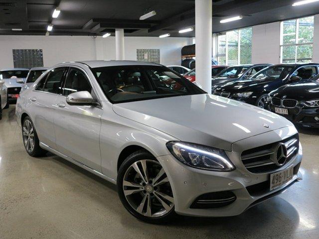 Used Mercedes-Benz C200 7G-Tronic +, Albion, 2014 Mercedes-Benz C200 7G-Tronic + Sedan