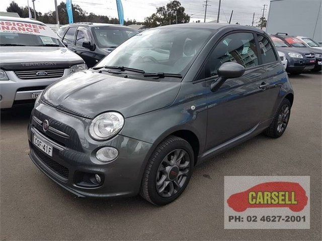 Used Fiat 500 S, Campbelltown, 2013 Fiat 500 S Hatchback