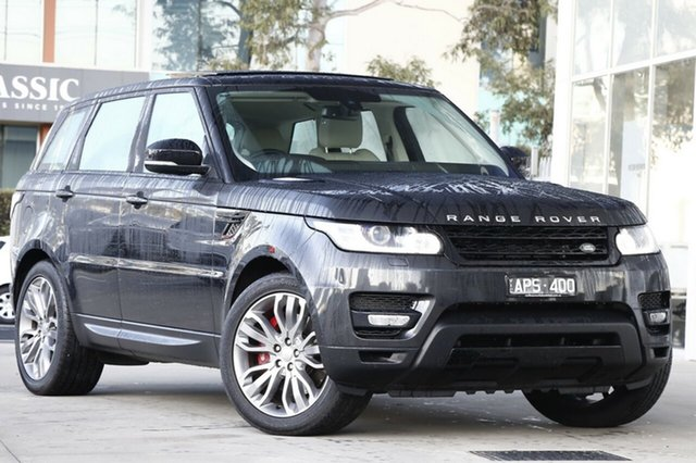 Used Land Rover Range Rover Sport V8SC CommandShift HSE Dynamic, Port Melbourne, 2014 Land Rover Range Rover Sport V8SC CommandShift HSE Dynamic Wagon