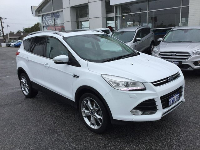 Demonstrator, Demo, Near New Ford Kuga Titanium PwrShift AWD, Morley, 2015 Ford Kuga Titanium PwrShift AWD Wagon