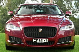 2016 Jaguar XF 20D Prestige Sedan.