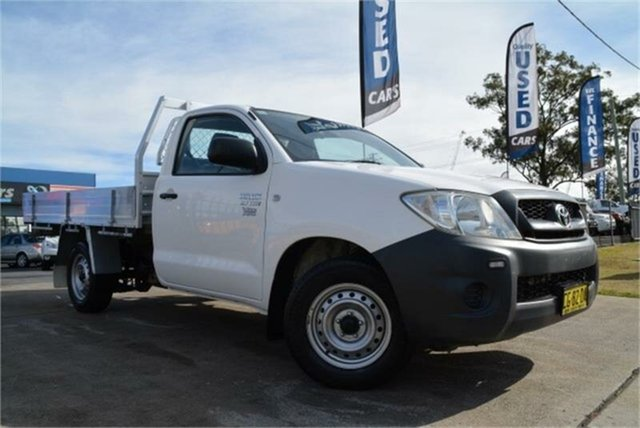 Used Toyota Hilux Workmate, Mulgrave, 2009 Toyota Hilux Workmate Cab Chassis