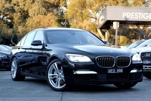 Used BMW 740I Steptronic, Balwyn, 2014 BMW 740I Steptronic Sedan