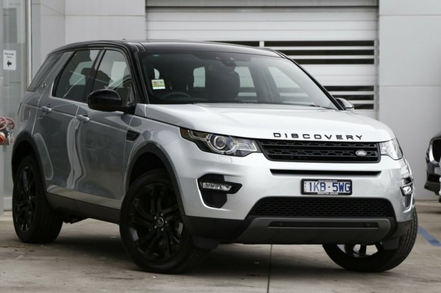 Discounted Demonstrator, Demo, Near New Land Rover Discovery Sport TD4 132kW HSE, Gardenvale, 2017 Land Rover Discovery Sport TD4 132kW HSE Wagon