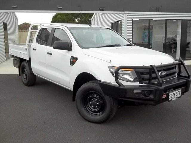 Used Ford Ranger XL Double Cab, Murray Bridge, 2014 Ford Ranger XL Double Cab Cab Chassis