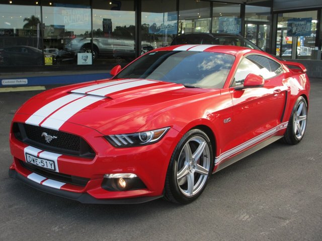 Discounted Demonstrator, Demo, Near New Ford Mustang GT Fastback SelectShift, Southport, 2017 Ford Mustang GT Fastback SelectShift Fastback