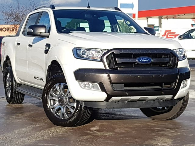 Used Ford Ranger Wildtrak Double Cab, Morley, 2016 Ford Ranger Wildtrak Double Cab Utility
