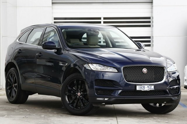 Demonstrator, Demo, Near New Jaguar F-PACE 25d AWD Portfolio, Gardenvale, 2018 Jaguar F-PACE 25d AWD Portfolio Wagon