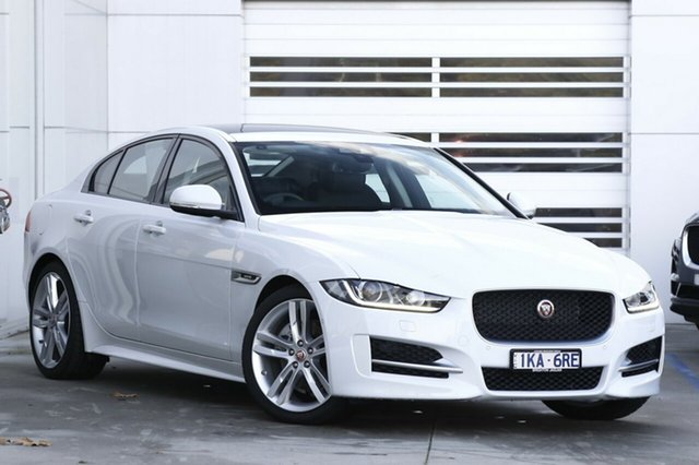 Discounted Demonstrator, Demo, Near New Jaguar XE 20D R-Sport, Gardenvale, 2017 Jaguar XE 20D R-Sport Sedan