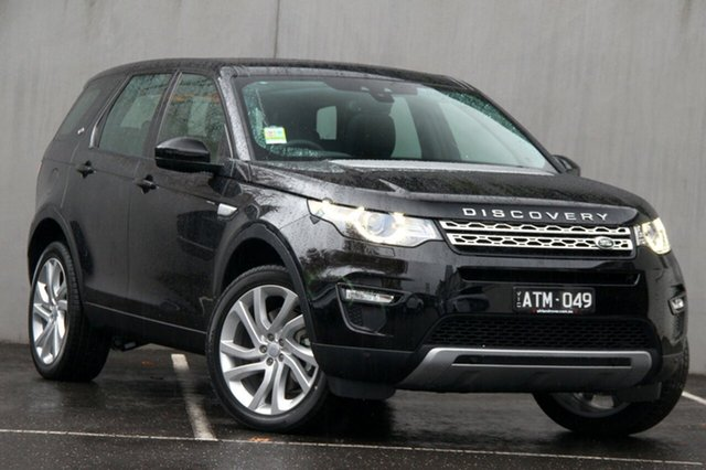 Demonstrator, Demo, Near New Land Rover Discovery Sport SD4 HSE, Malvern, 2017 Land Rover Discovery Sport SD4 HSE Wagon