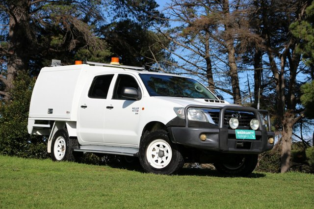 Used Toyota Hilux SR Double Cab, Officer, 2011 Toyota Hilux SR Double Cab Cab Chassis
