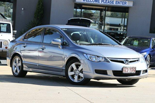 Used Honda Civic VTi-L, Moorooka, Brisbane, 2008 Honda Civic VTi-L Sedan