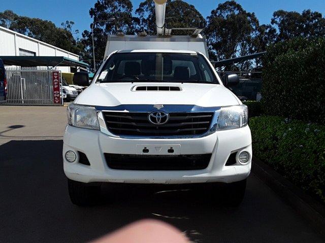 Used Toyota Hilux SR, Acacia Ridge, 2013 Toyota Hilux SR KUN26R MY12 Cab Chassis
