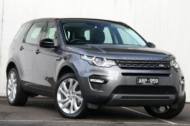 Used Land Rover Discovery Sport Si4 177kW SE, Malvern, 2017 Land Rover Discovery Sport Si4 177kW SE Wagon