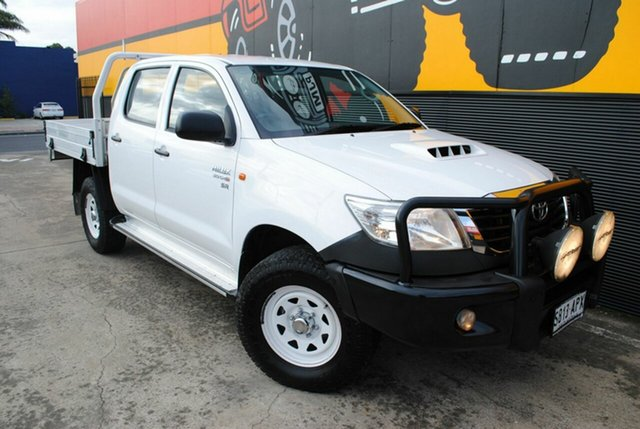Used Toyota Hilux SR Double Cab, Melrose Park, 2012 Toyota Hilux SR Double Cab Cab Chassis