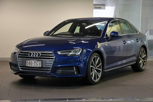 Demonstrator, Demo, Near New Audi A4, Southport, 2018 Audi A4 Sedan