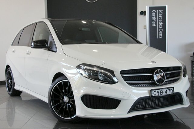 Used Mercedes-Benz B250 DCT 4MATIC, Mosman, 2015 Mercedes-Benz B250 DCT 4MATIC Hatchback