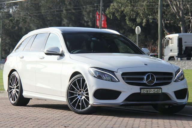 Demonstrator, Demo, Near New Mercedes-Benz C300 Estate 9G-Tronic, Warwick Farm, 2017 Mercedes-Benz C300 Estate 9G-Tronic Wagon
