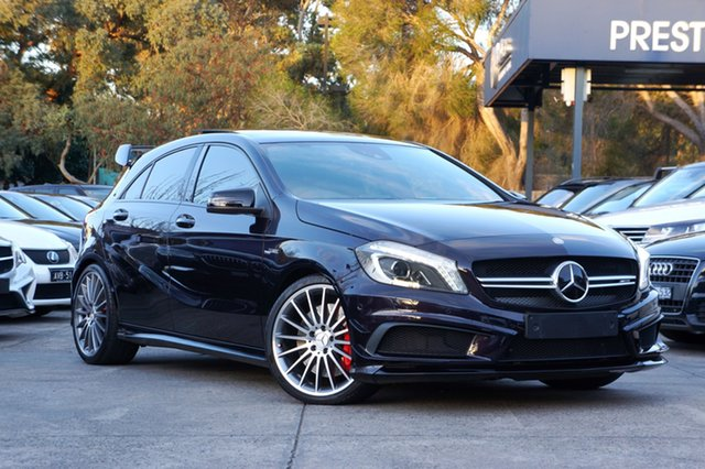 Used Mercedes-Benz A45 AMG SPEEDSHIFT DCT 4MATIC, Balwyn, 2015 Mercedes-Benz A45 AMG SPEEDSHIFT DCT 4MATIC Hatchback