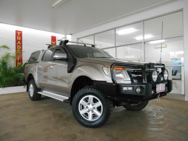 Used Ford Ranger XLT Double Cab, Mount Isa, 2012 Ford Ranger XLT Double Cab PX Utility
