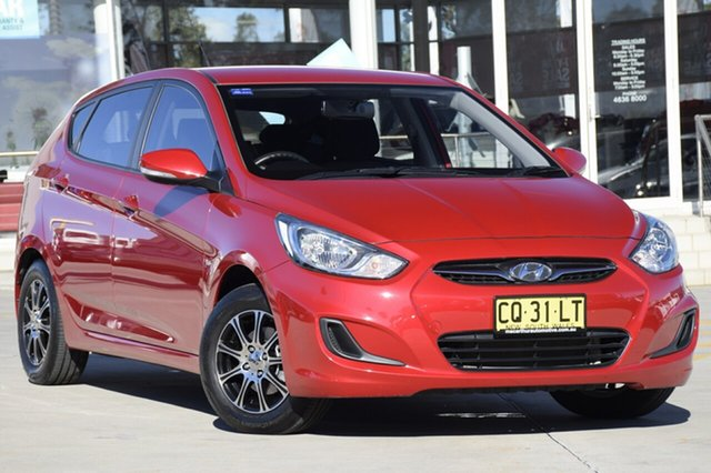 Used Hyundai Accent Active, Narellan, 2012 Hyundai Accent Active Hatchback