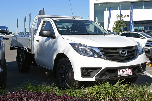 Demonstrator, Demo, Near New Mazda BT-50, Southport, 2018 Mazda BT-50 Cab Chassis