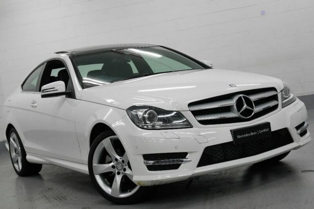 Used Mercedes-Benz C180 7G-Tronic +, Chatswood, 2014 Mercedes-Benz C180 7G-Tronic + Coupe