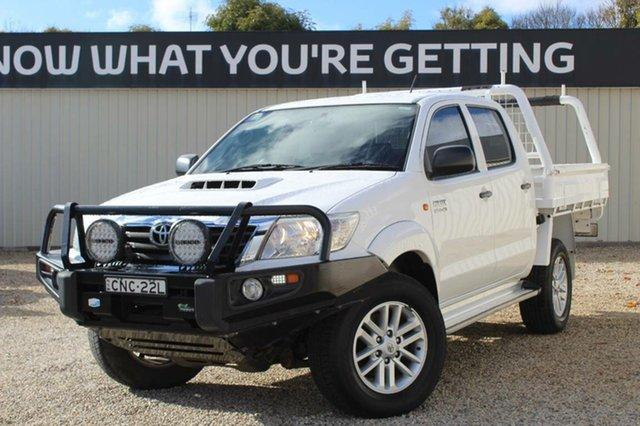 Used Toyota Hilux SR (4x4), Bathurst, 2013 Toyota Hilux SR (4x4) Dual Cab Pick-up