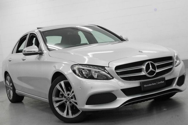 Used Mercedes-Benz C200 9G-TRONIC, Chatswood, 2017 Mercedes-Benz C200 9G-TRONIC Sedan