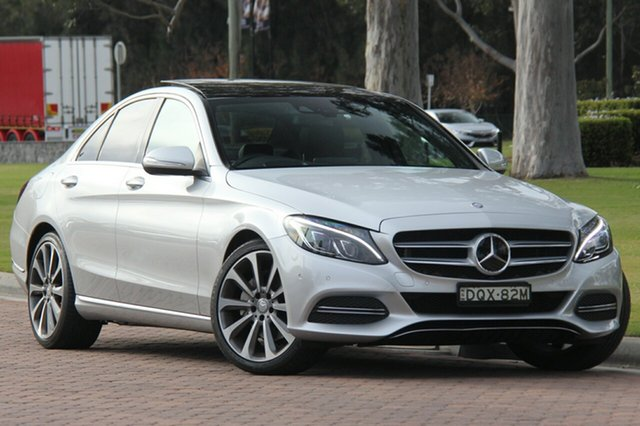 Discounted Used Mercedes-Benz C250 7G-Tronic +, Warwick Farm, 2014 Mercedes-Benz C250 7G-Tronic + Sedan