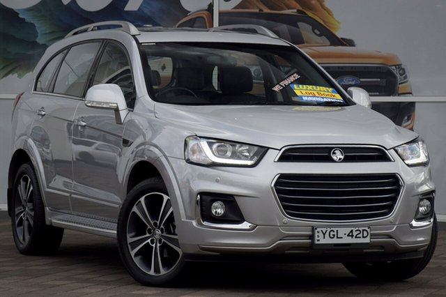 Used Holden Captiva LTZ AWD, Warwick Farm, 2016 Holden Captiva LTZ AWD SUV
