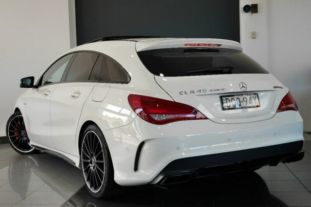 Demonstrator, Demo, Near New Mercedes-Benz CLA45 AMG Shooting Brake SPEEDSHIFT DCT 4MATIC, Mosman, 2015 Mercedes-Benz CLA45 AMG Shooting Brake SPEEDSHIFT DCT 4MATIC Wagon