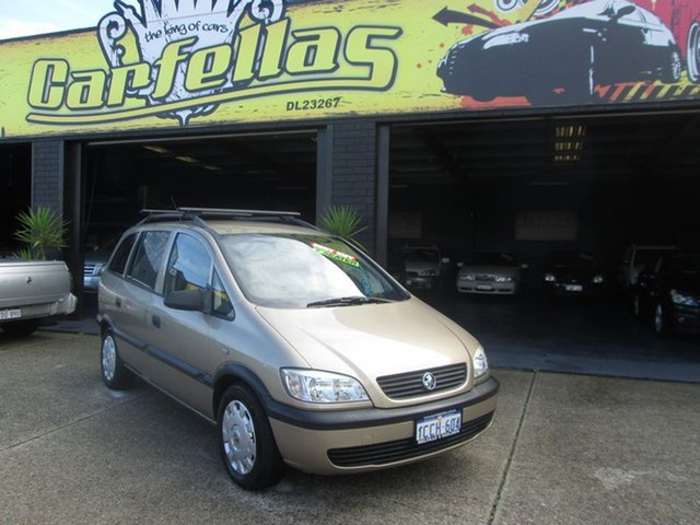 Used Holden Zafira, O'Connor, 2004 Holden Zafira Wagon