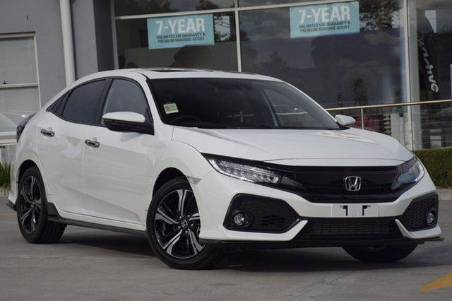 Discounted Demonstrator, Demo, Near New Honda Civic RS, Narellan, 2018 Honda Civic RS Hatchback