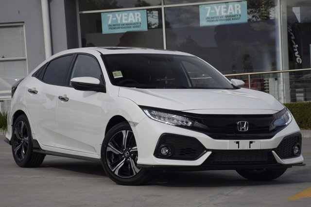Discounted Demonstrator, Demo, Near New Honda Civic RS, Southport, 2018 Honda Civic RS Hatchback