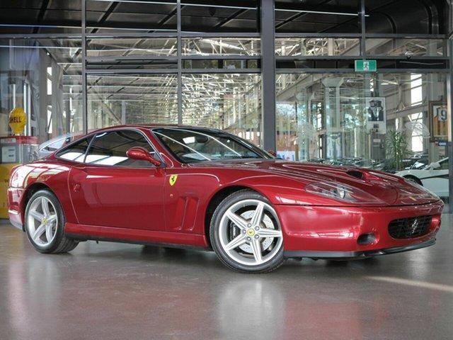 Used Ferrari 575 Maranello F1, North Melbourne, 2003 Ferrari 575 Maranello F1 Coupe